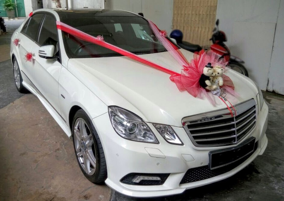 Mercedes E Cl Wedding Car Al Malaysia