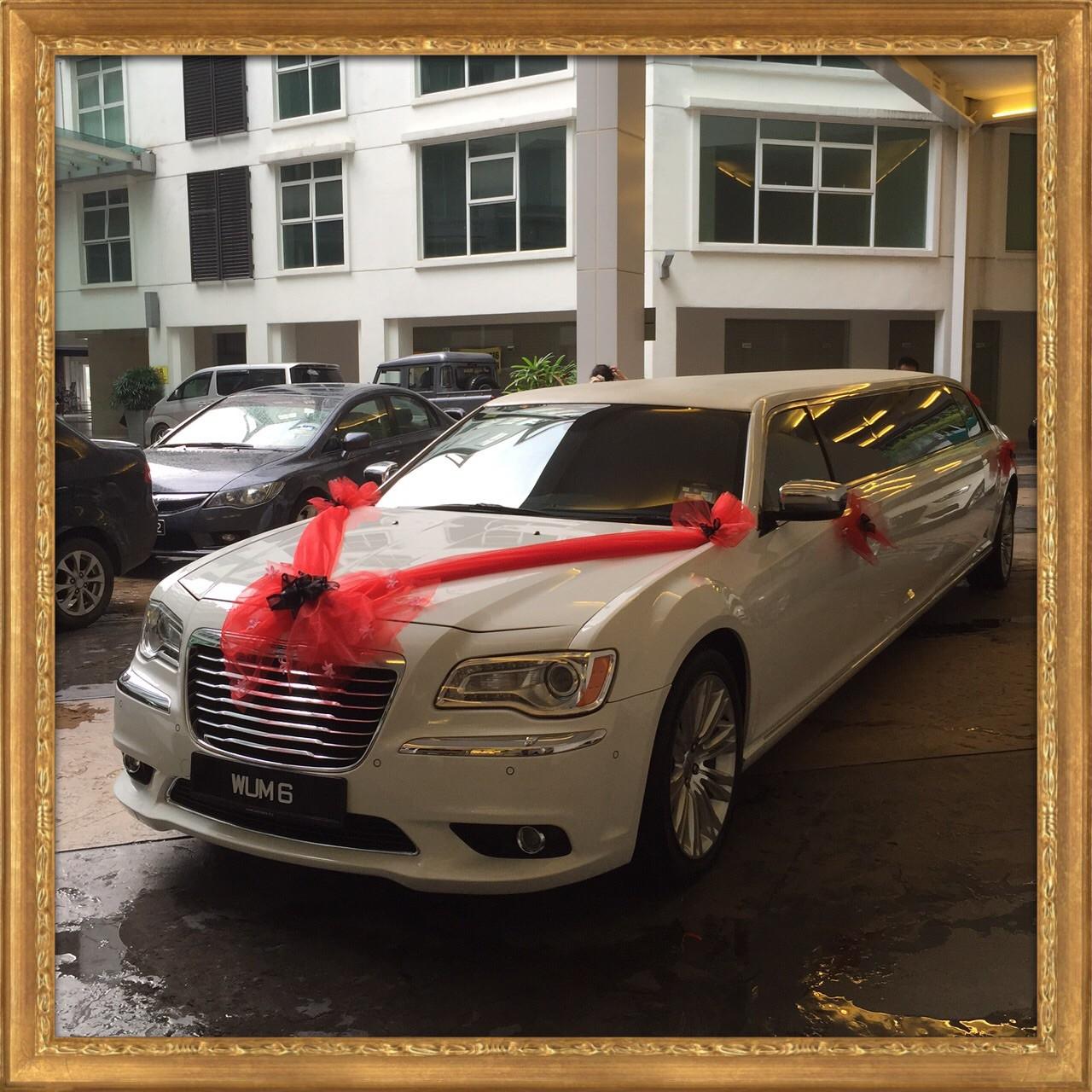 Chrysler Wedding Car