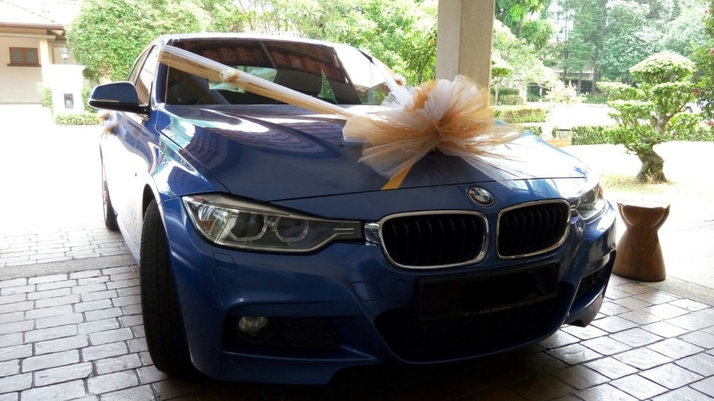 bmw m sport wedding