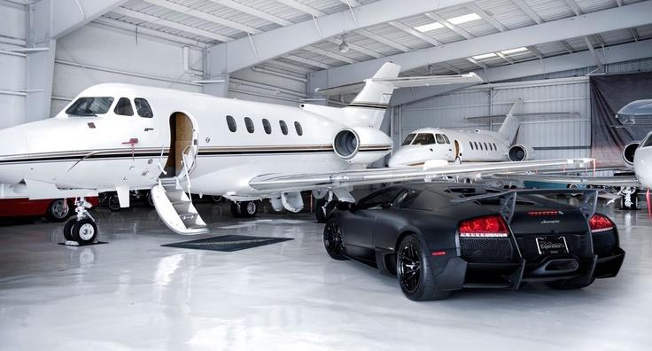 private jet lambo