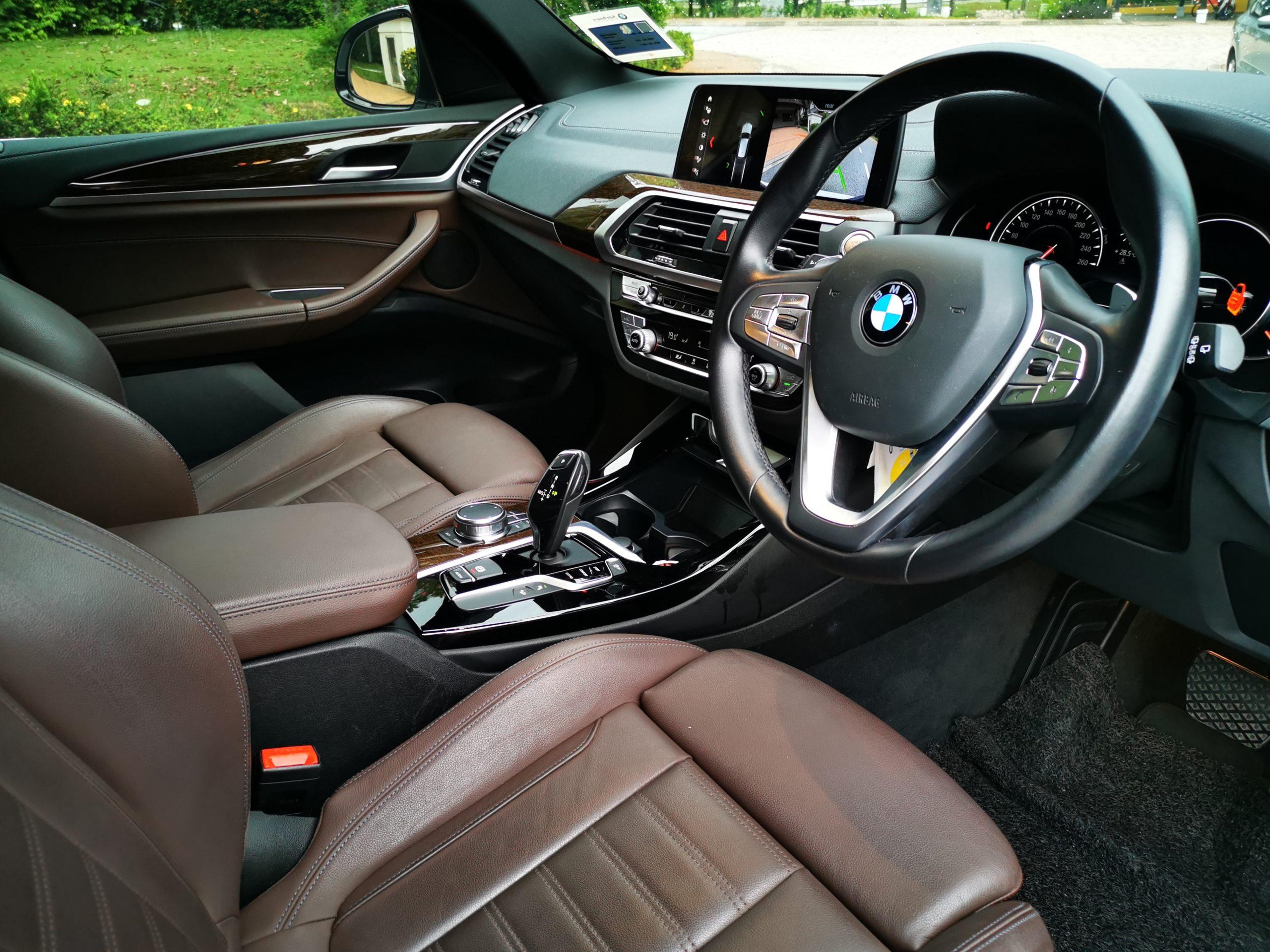 BMW X3 Steering Dashboard