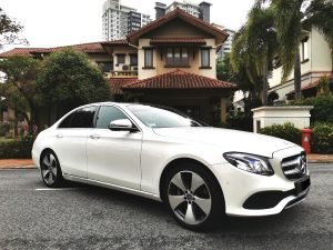 Mercedes E250 Rental