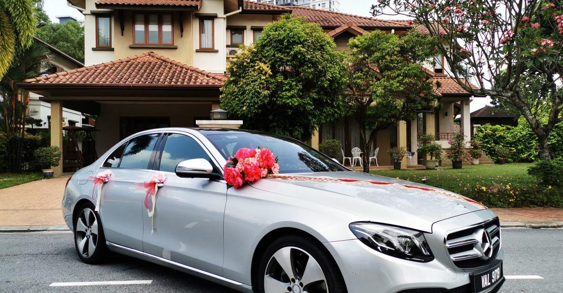 Mercedes E250 side view