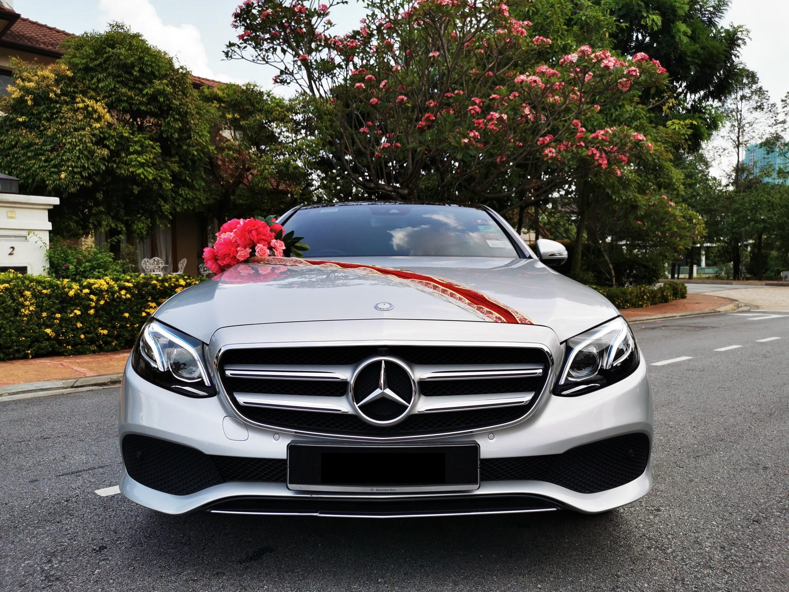 Mercedes E250 Front View