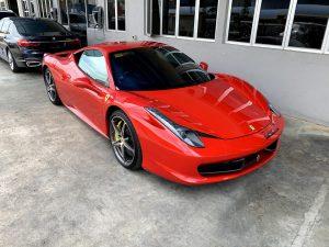 Ferrari 488 Rental