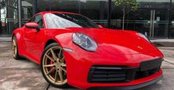 Porsche Carrera S Rental
