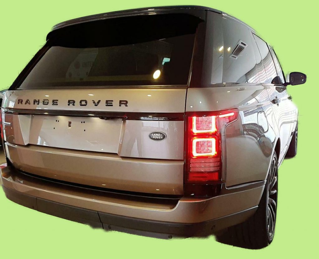 Range Rover Vogue Back