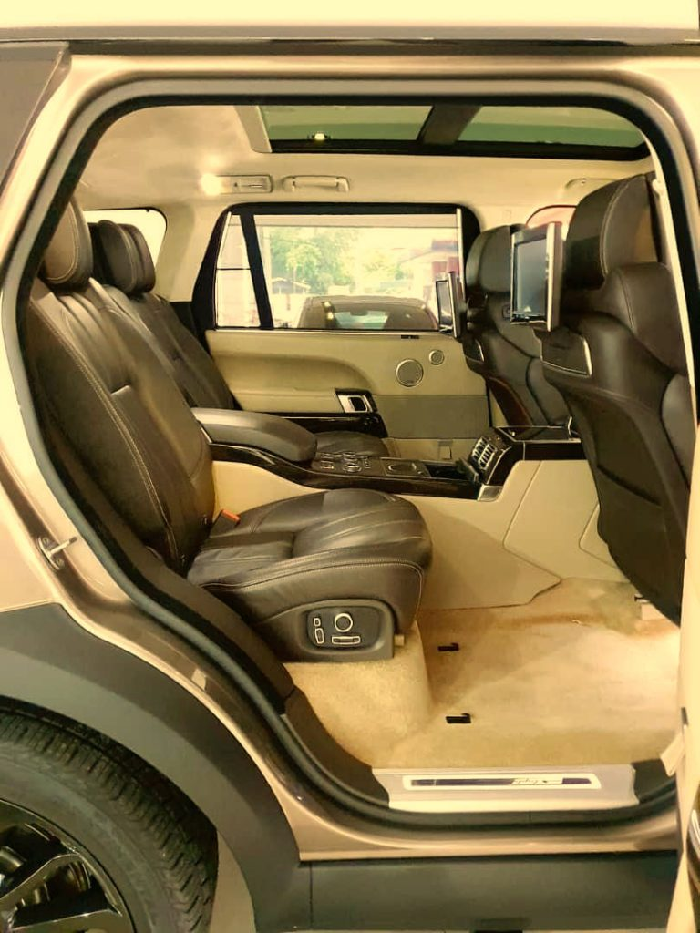 Range Rover Vogue Interior
