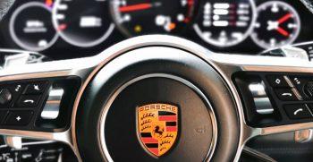 Porsche Steering Wheel Hire While Car In Workshop