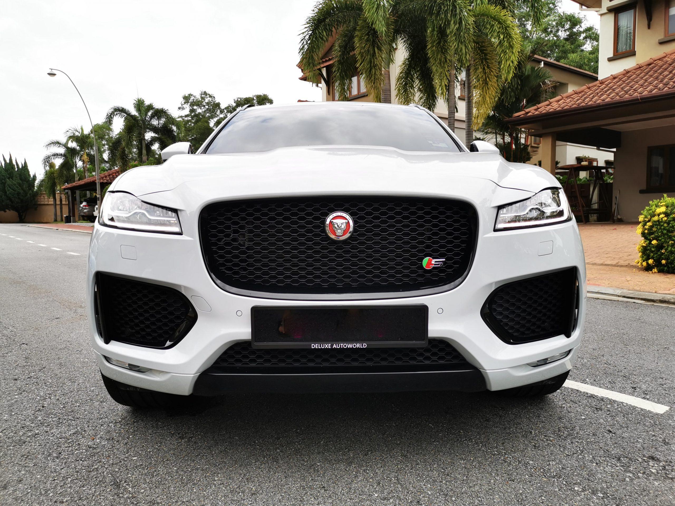 Jaguar F Pace Front View