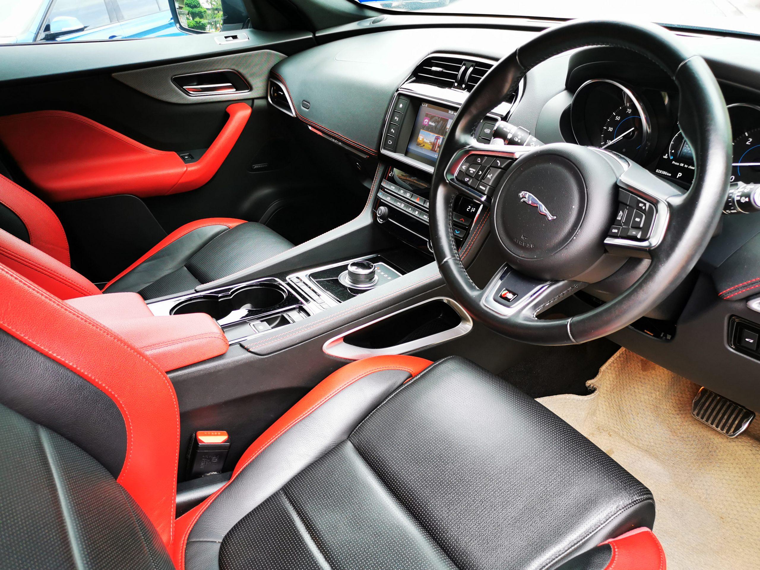 Jaguar F Pace Steering