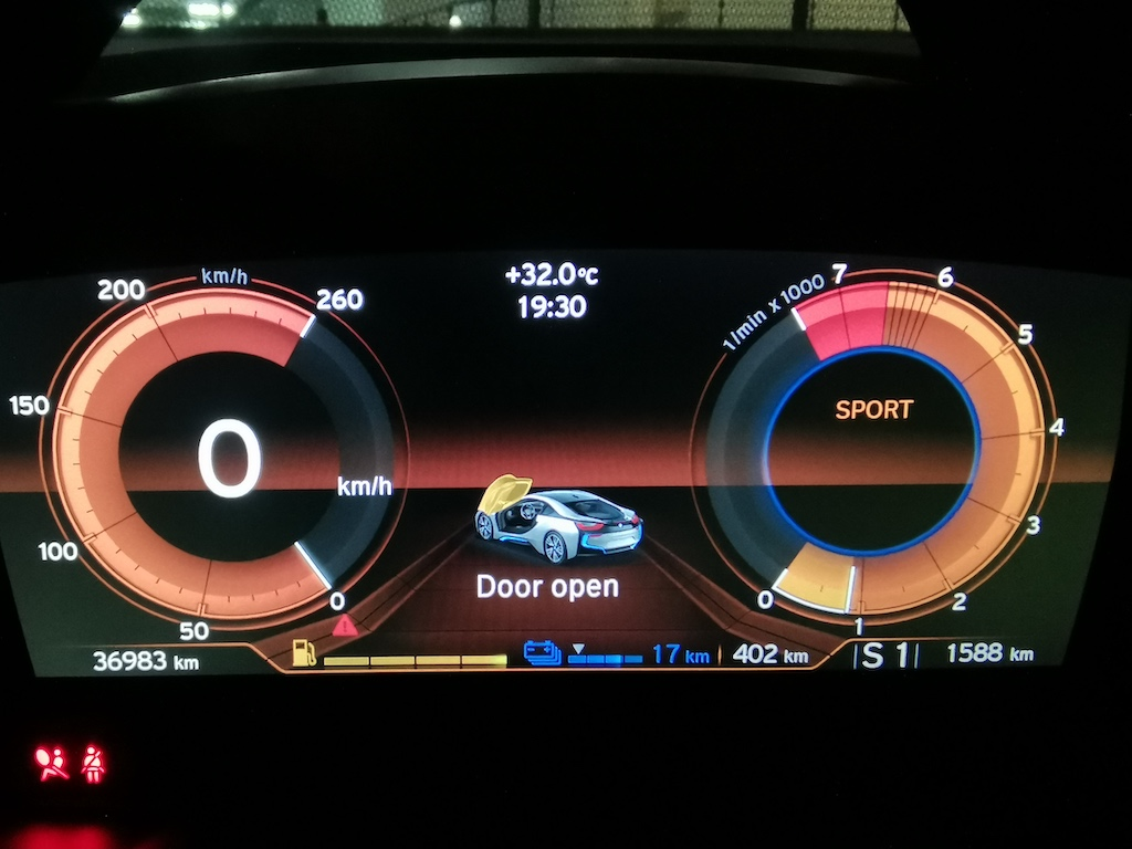 BMW i8 Dashboard Computer