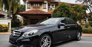 Mercedes E300 bluetec hybrid rental malaysia