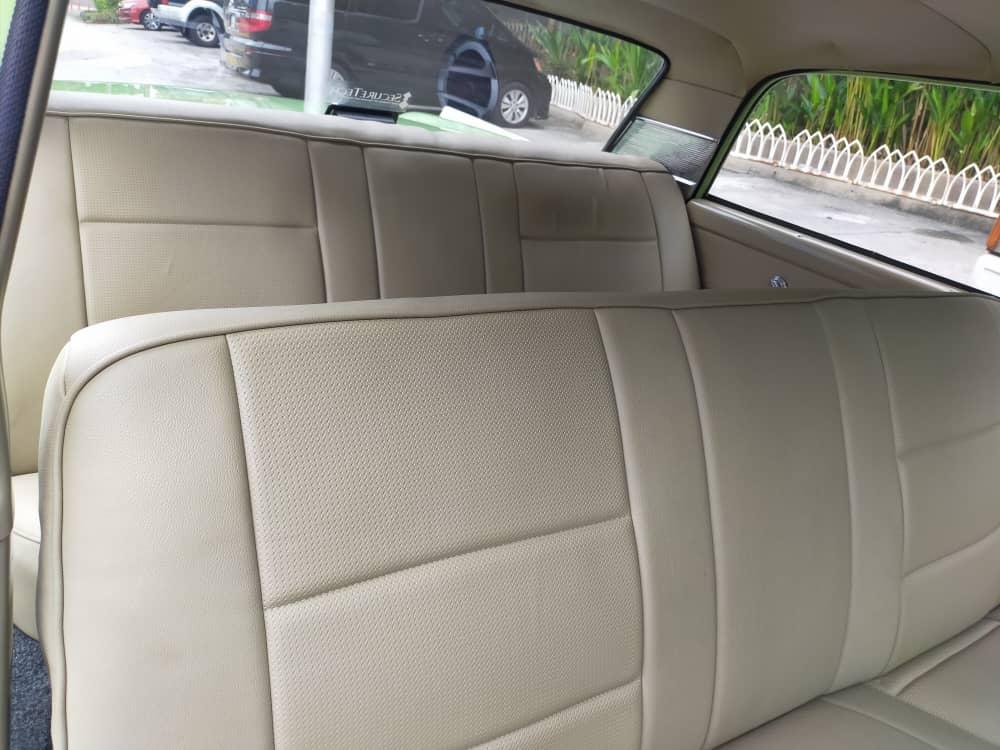 Ford Galaxy Rear Seats