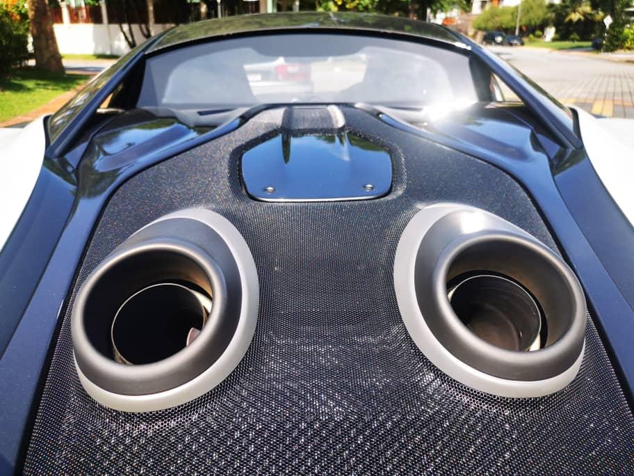 McLaren 600LT Super exhaust