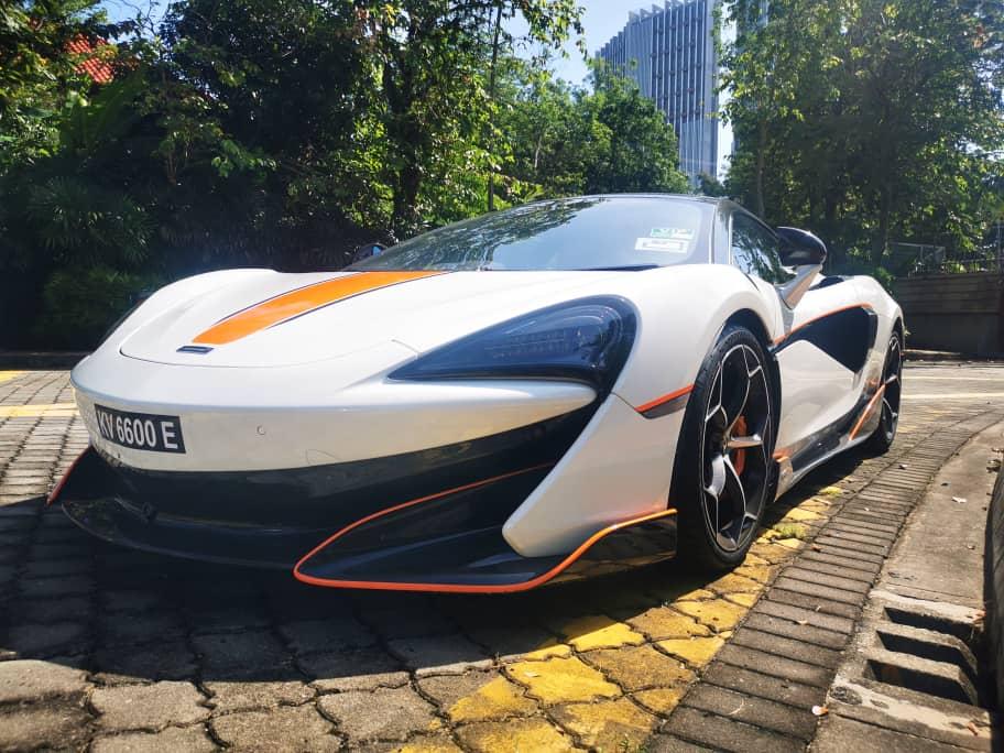 McLaren 600LT in KL