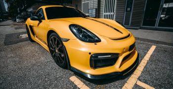 Porsche GT4 Rental Malaysia